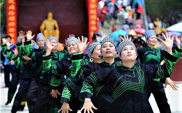 Etnia Zhuang 1