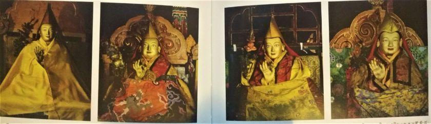 Dalai Lama del IX al XII.jpg