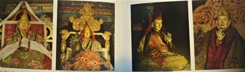 Dalai Lama del V al IIX