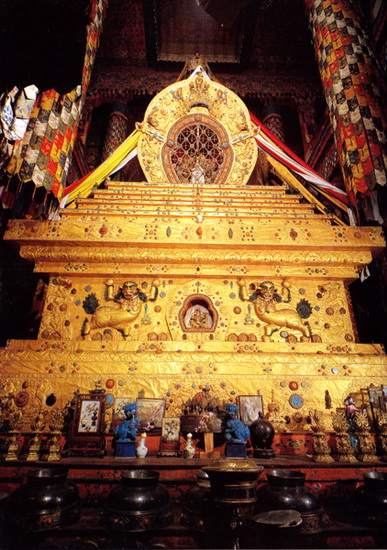 Estupa del Quinto Dalai Lama